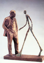 Lenin and Giacometti 1989